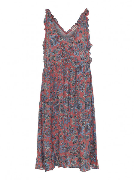 Custommade, Nalin Dress, Slate Rose