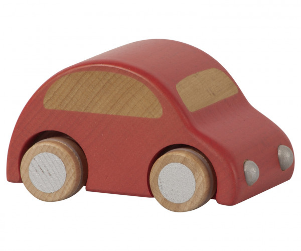 "Maileg ""Wooden Car"" Red"