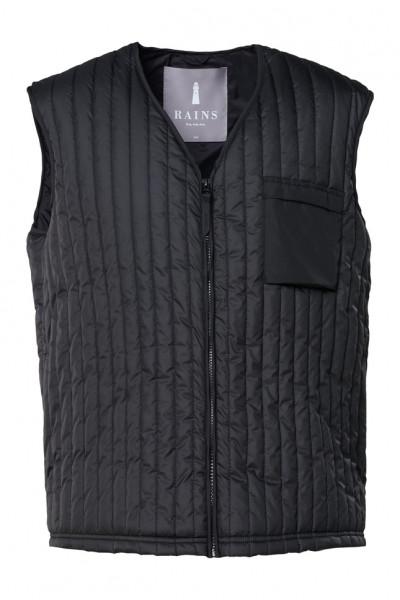 Rains, Liner Vest, Black