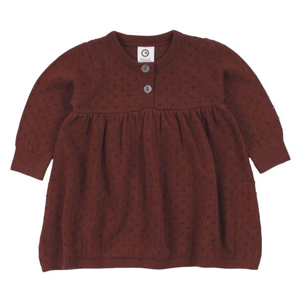 Müsli, Knit dress baby, fudge