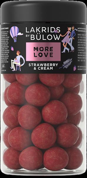 Lakrids, MORE LOVE, Strawberry & Cream, Regular (265g)
