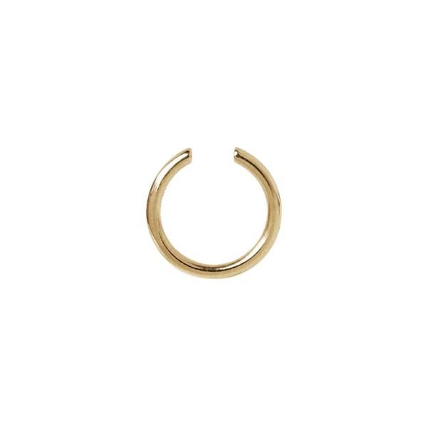 Maria Black, Twin Mini Ear Cuff - Sterling Silver - High Polished Gold