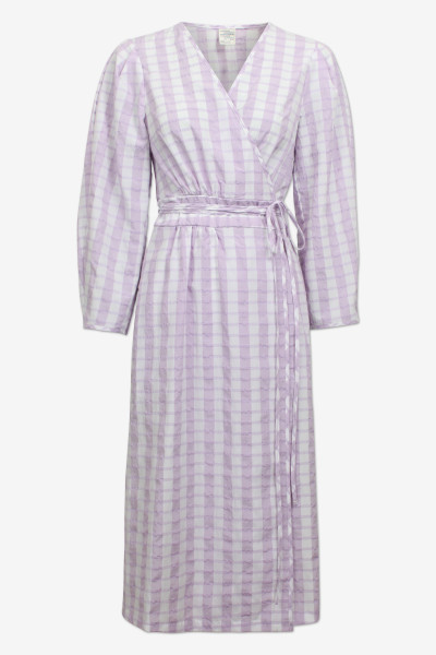 Baum und Pferdgarten, Abylene Dress, Creamy Lilac Check