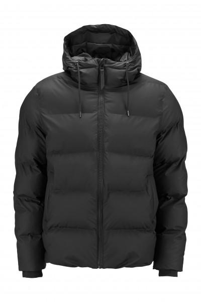 Rains, Puffer Jacket, Black