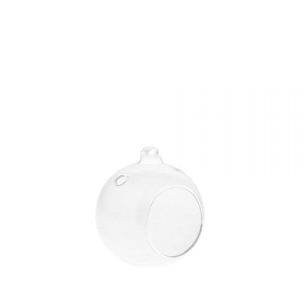 Storefactory Skandinavia, Ekhagen - Small glass vase / tealight holder