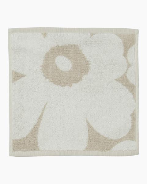 Marimekko, Unikko Guest Towel, 30x30cm, White Beige