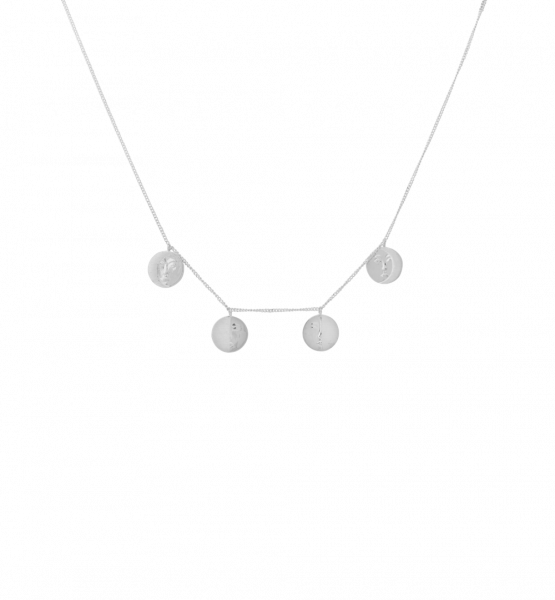 Lunar Necklace in Silber
