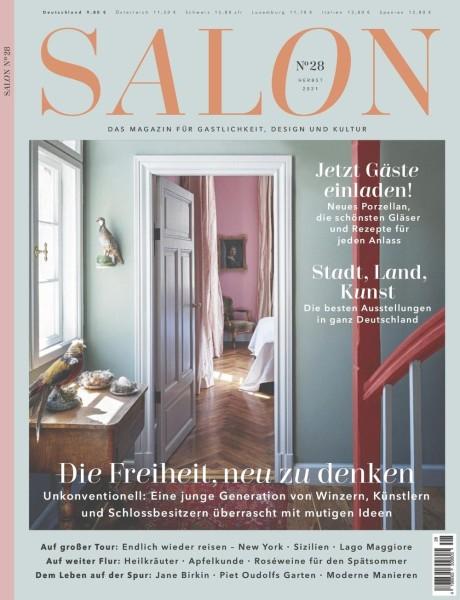 SALON Das Magazine für Gastlichkeit, Design und Kultur No.28 Herbst 2021