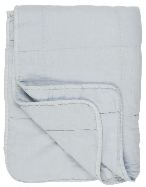 Ib Laursen, Quilt Hellblau, 130x180cm