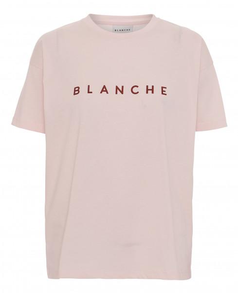 BLANCHE Main Contrast T-Shirt, Spring Blush