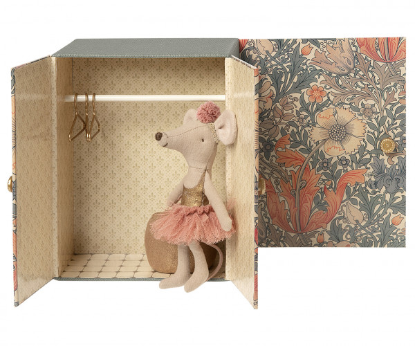 Maileg, Dance room w. big sister mouse