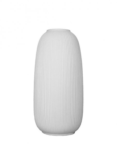 Storefactory Skandinavia, ÅBY light grey caramic vase