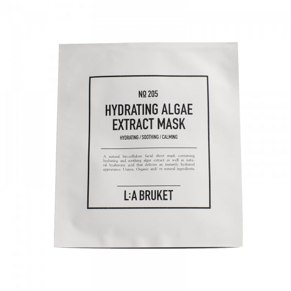 LA Bruket 205 Hydrating algae extract mask 4x24ml