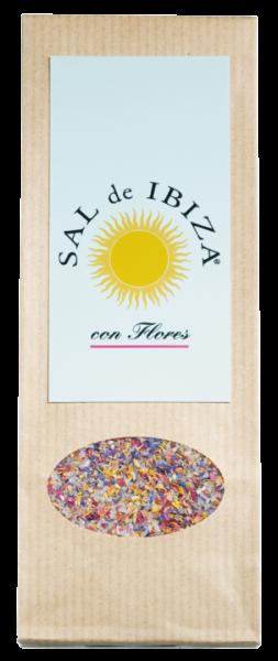 Sal de Ibiza , Granito con Flores, 150g