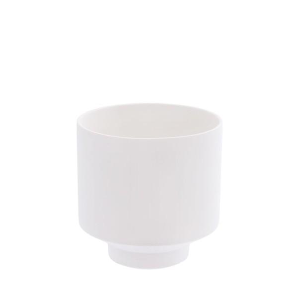 Storefactory Kiaby, weißer Topf / Vase