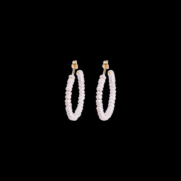 Anna+Nina, Seed-Pearl Earrings