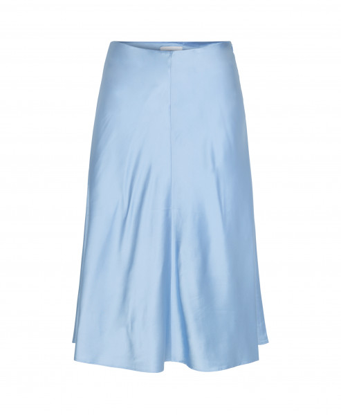 Samsøe, Heaston Skirt. Bel Air Blue