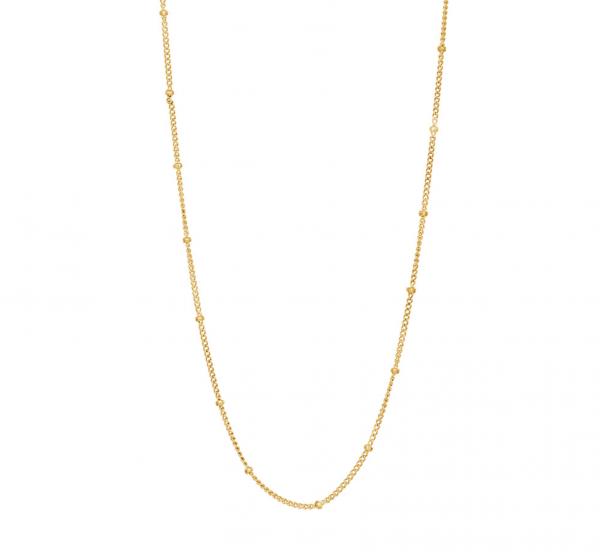 Nordahl, Halskette LINE, vergoldet