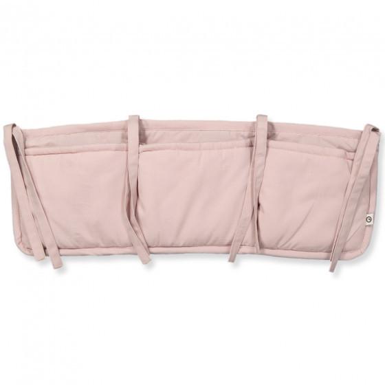 "müsli by green cotton ""Bed pocket organizer"" rose"