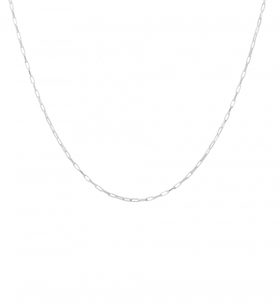 Anna+Nina, Lifeline Plain Long Necklace, Silber