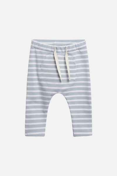 Hust&Claire, Gill Jogging Pants, Blue Fog