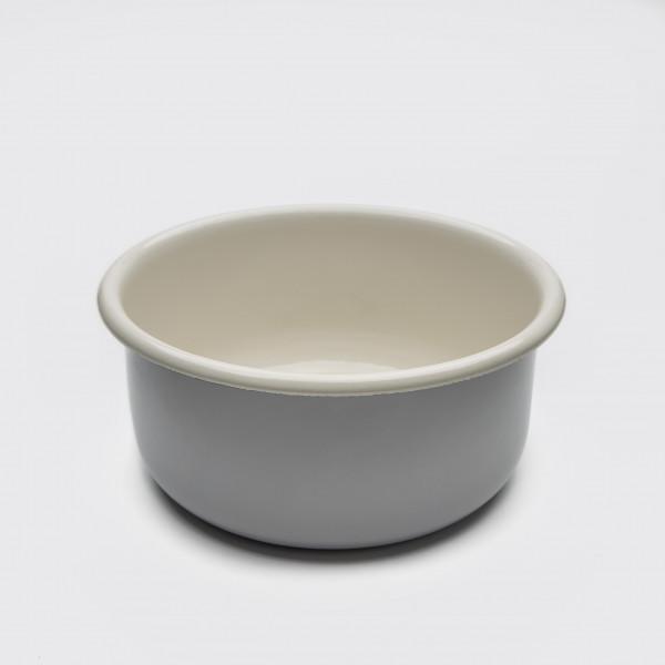 Cloud7 Dog Bowl Granny Grey, mit Deckel, M
