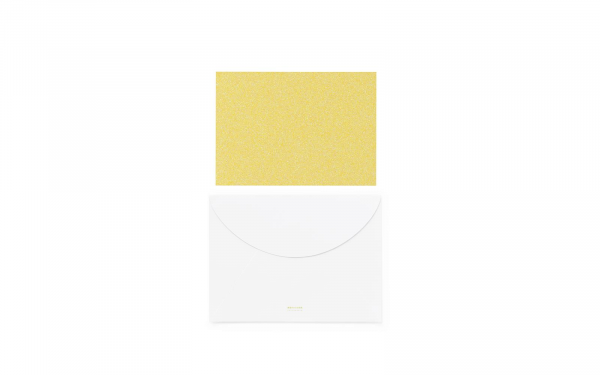 Normann, Greeting Card Large Pale Yellow
