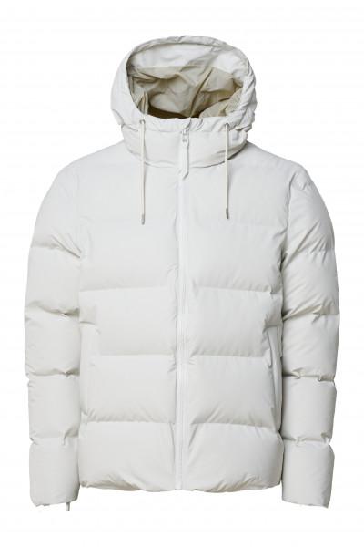 Rains, Puffer Jacket, Off White
