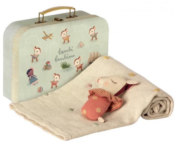 """Maileg """"Baby Gift Set"""" Rose"""