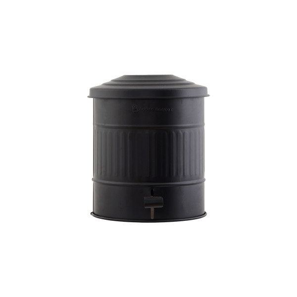 House Doctor, Garbage Bin, Matte Black, 15 Liters