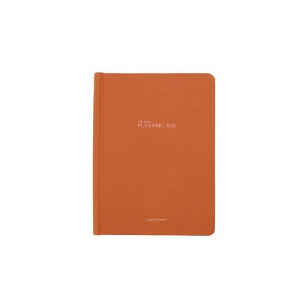 Monograph, Tageskalender, 2022, Orange