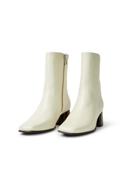 Filippa K, Eileen Leather Boot, Ivory