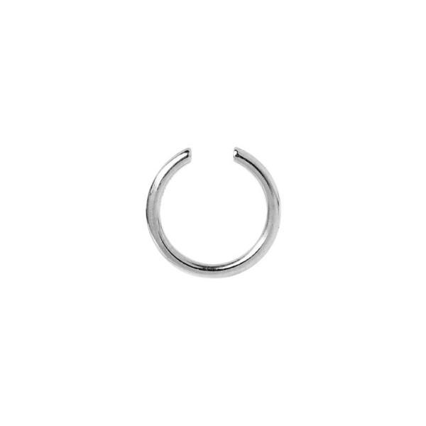 Maria Black, Twin Mini Ear Cuff - Sterling Silver - White Rhodium
