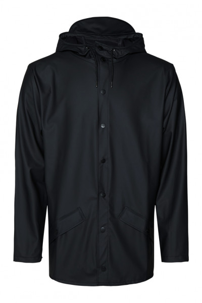 Rains, Jacket, Black