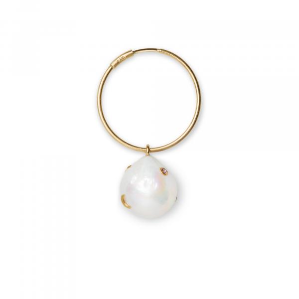 Jane Kønig, Baroque Pearl Earring, Single