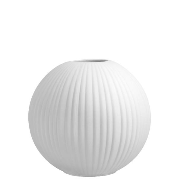Storefactory Vena - große weiße Keramik-Vase