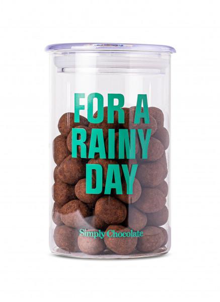 "Simply Chocolate ""For Rainy Days"", Jar, 280g"