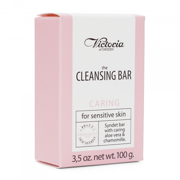 "Victoria Soap ""The Cleansing Bar"", Caring – for sensitive skin, 100g"