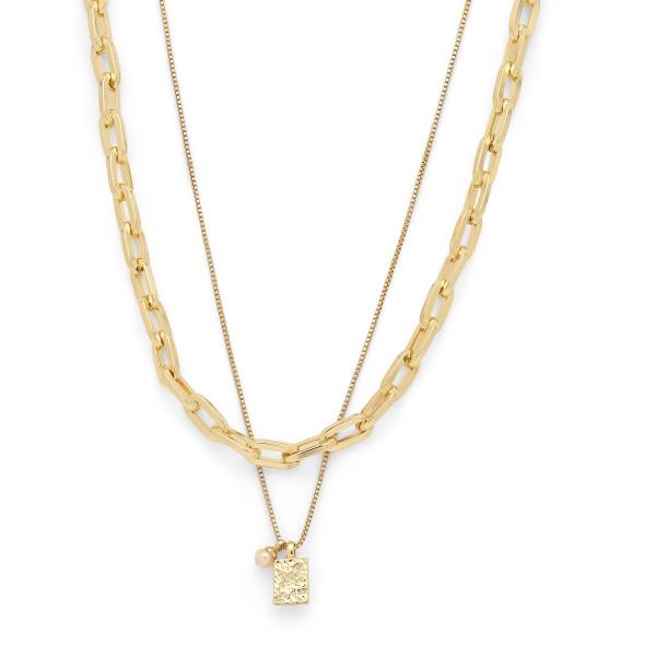 Pilgrim, Halskette Hana, vergoldet