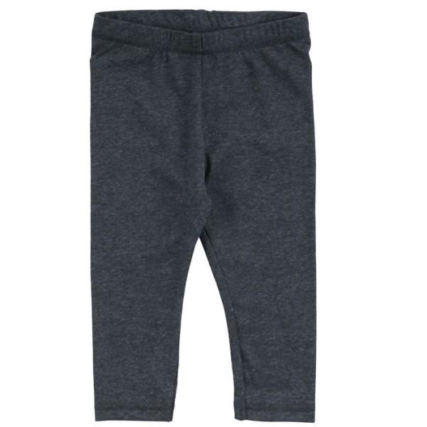 Müsli by Green Cotton, Cozy Me Baby Leggings, Dark Grey Melange