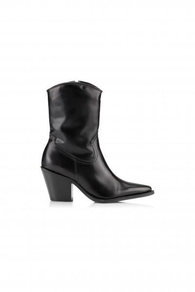 Shoe Biz Copenhagen, Chile Cowboy Boots, Black