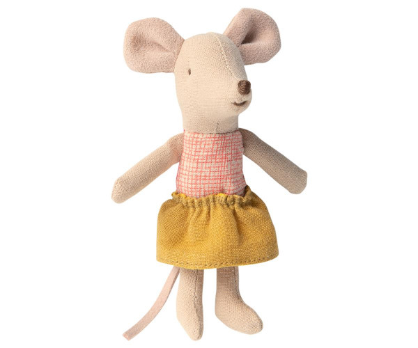 Maileg, Little sister mouse in matchbox