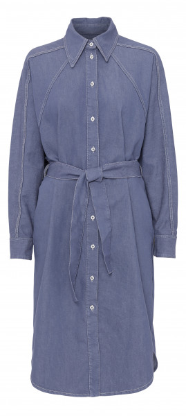 BLANCHE, Alina Dress, Mid Blue