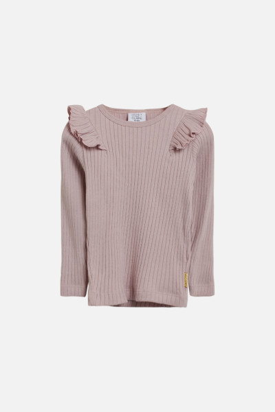 Hust&Claire, Alexia T-Shirt SS, Violet Ice