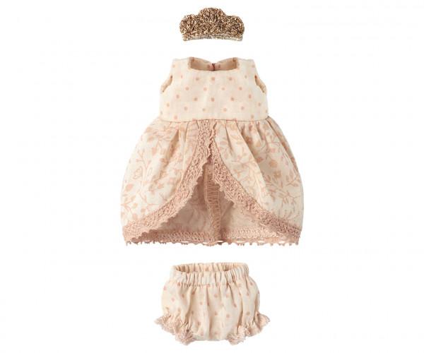 "Maileg ""Princess Dress"" Rose Clothes Fit"