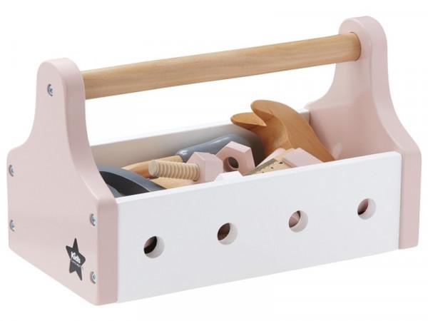 """Kids Concept """"Werkzeugkiste 20-teilig"""" rosa"""