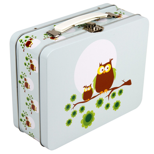 "BLA FRE ""Lunchbox"" Owl, Light Blue"