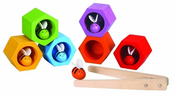 Plan Toys, Geschicklichkeitsspiel Bienenwaben