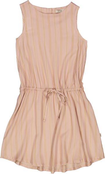 Wheat, Dress Vilde, Peach Stripe (98-140)