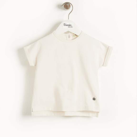 "the Bonnie Mob ""Cairns, Plain T-Shirt"" Cream"